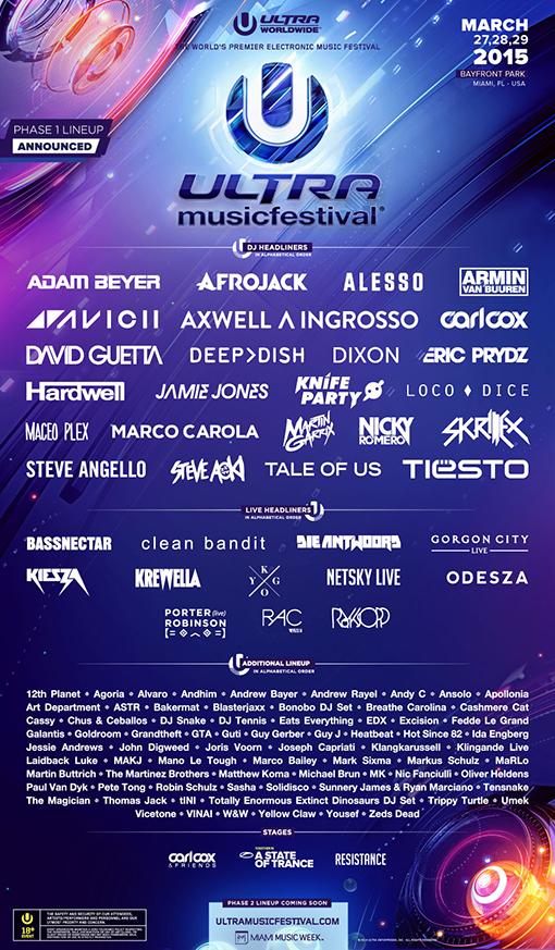 Source: Ultra Music Festival